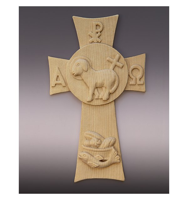 4850 - lamb of god cross NATUR