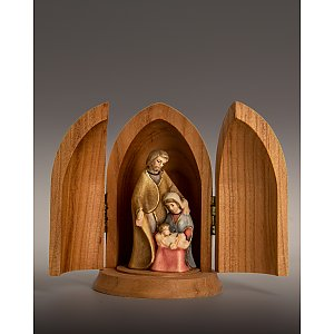 3336 - Niches with Holy Family